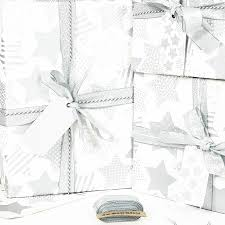 silver white wrapping paper by