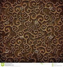 carved wooden pattern stock photo image of material 35266834