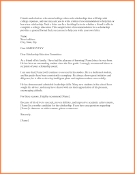 best solutions of sample scholarship recommendation letter pdf in