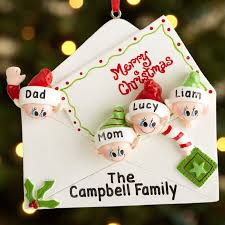personalized tree ornaments rainforest islands ferry
