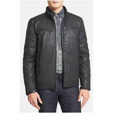 mens moto jacket vince camuto men u0027s reversible coated moto jacket u2013 menecloth