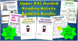 year 6 guided reading comprehension activities booklet aligned
