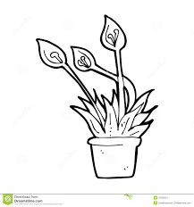 cartoon orchid plant stock images image 37025014