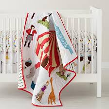 Circus Crib Bedding The Land Of Nod Baby Bedding Circus Themed Crib Bedding In