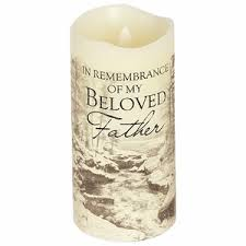 memorial candle flameless memorial candle