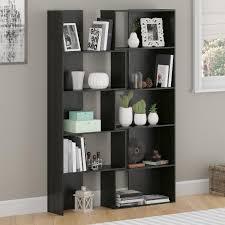 amazon com altra transform expandable bookcase midnight onyx