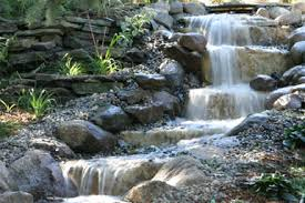 Backyard Pondless Waterfalls by Tier One Landscape Portfolio Of Services Water Features