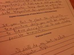 many written warning letter examples including employee policies