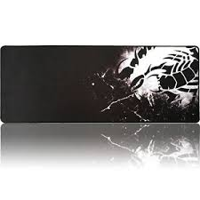Gaming Desk Pad Extended Xl Large Black Scorpion Mouse Pad Speed Gaming Desk