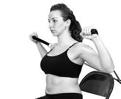 incline bench press with your elbows out push your arms up at a