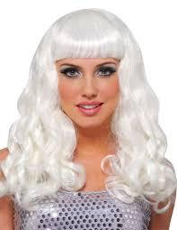white halloween wigs womens wigs costume craze