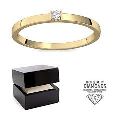 verlobungsring stuttgart verlobungsring gold diamant diamantring solitär schmal dünn