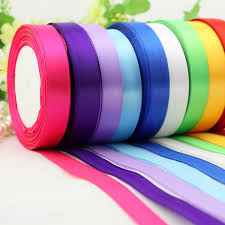 ribbon fabric 15mm width satin ribbons wedding party decoration gift craft