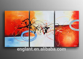 modern art work decoration painting colorful wall picture for