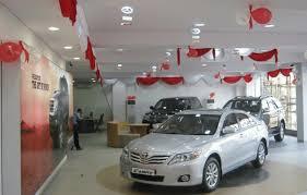 toyota car showroom millennium toyota showroom workshop mira road arpanna motors