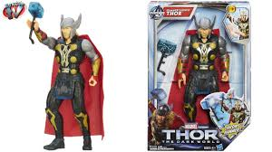 thor the dark world hammer launch thor 10 action figure toy review