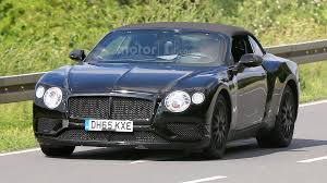 bentley convertible blue bentley continental gt convertible spied for the first time