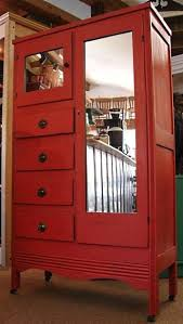 Jewelry Armoire Vintage Red Armoire Wardrobe U2013 Blackcrow Us