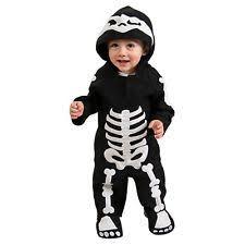 Glow In The Dark Skeleton Costume Baby Skeleton Costume Ebay