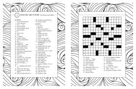 thanksgiving puzzles for adults posh crosswords coloring book 55 puzzles for fun