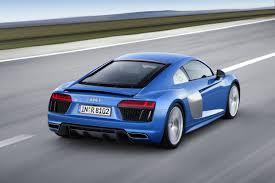 Audi R8 Blue - audi newsroom