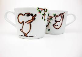 love koala mugs set of 2 coffee mugs cute koala mugs unique
