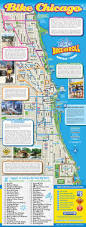 Chicago Attraction Map by Traveling With Grace Traveling Around Chicago With Grace