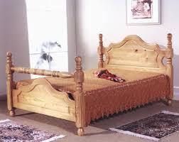 King Size Pine Bed Frame Old Wooden Bed Frame Most Widely Used Home Design