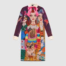 unskilled worker silk dress gucci women u0027s dresses 486873zjx415445
