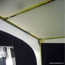 Dorema Porch Awnings Dorema Quattro 380 Blue And Grey Porch Awning 28mm Easygrip