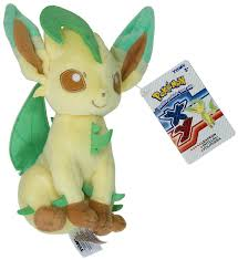amazon com leafeon 9 mini plush pokemon evolution of eevee