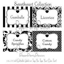 Candy Labels For Candy Buffet by 35 Best Candy Buffet Label Ideas Images On Pinterest Candy