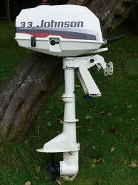 johnson 3 3hp short shaft outboard engine motor 2 stroke 1997 in