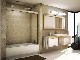 bathroom modern bathroom design with frameless shower doors and