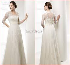 wholesale wedding dresses uk a line empire waist wedding dress with sleeves search
