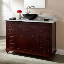 Small Bathroom Vessel Sink Vanity - Black bathroom vanity with vessel sink