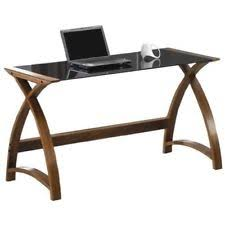 walnut contemporary desks u0026 computer furniture ebay