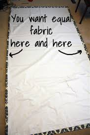 Tab Curtains Pattern Tutorial How To Sew Diy Black Out Lined Back Tab Curtain Drapery