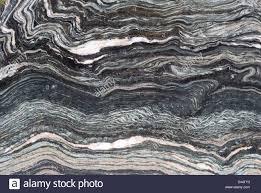 Blau Schwarz Muster Wellen Der T羮rkis Blau Schwarz Wei罅 Muster Einen Polierten