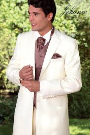 costume mariage blanc johann redingote de mariage ivoire