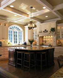 Ceiling Treatment Ideas by Kitchen Wall Decor Ideas Diy Kitchen Traditional With Turned Post