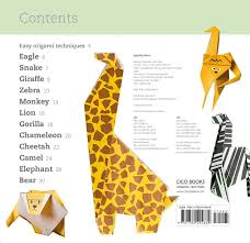 fun origami for children dino book by mari ono hiroaki takai