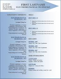 free cv resume templates 142 to 148 u2013 free cv template dot org