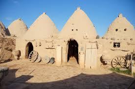 mud brick houses in harran built circa 3000bc earthen