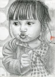 wanglu u0027s blog new pencil sketch xiao putao