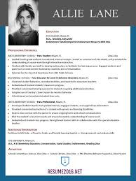 Good Resume Builder Resume Templates 2016 U2022 Which One Should You Choose