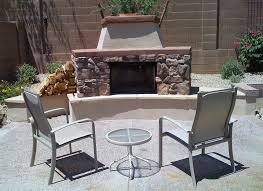 Outdoor Chimney Fireplace by Outdoor Fireplaces Desert Reflections Companies