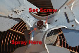how to lubricate a fan motor fan condenser fan motor replacment www diyhvacrepair com