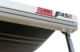 Fiamma F45s Awning Fiamma F45s 300cm Motorhome Awning Canopy Deep Black Deluxe Grey