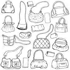 handtaschen design sammlung design frauen s handtaschen gezeichnet isoliert set